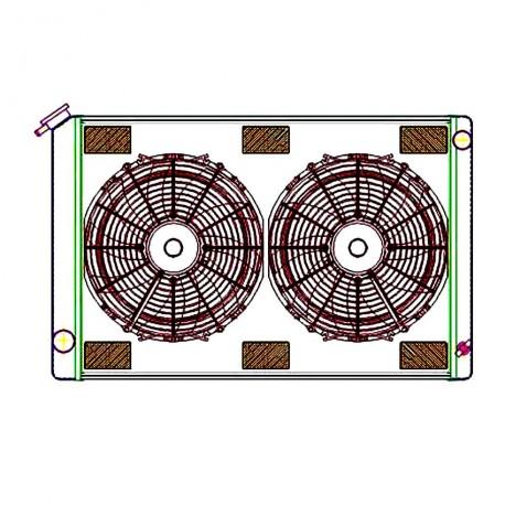 Griffin CU-00165 Aluminum Radiator